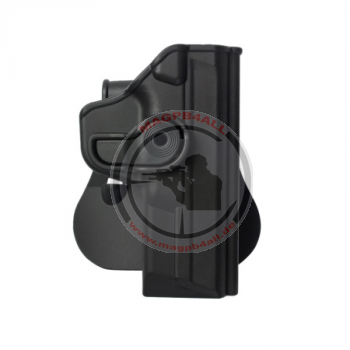 Polymer Retention Paddle Holster Level 2 für Smith & Wesson M&P BLACK
