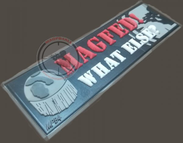 Patch Magfed! What Else mit Logo